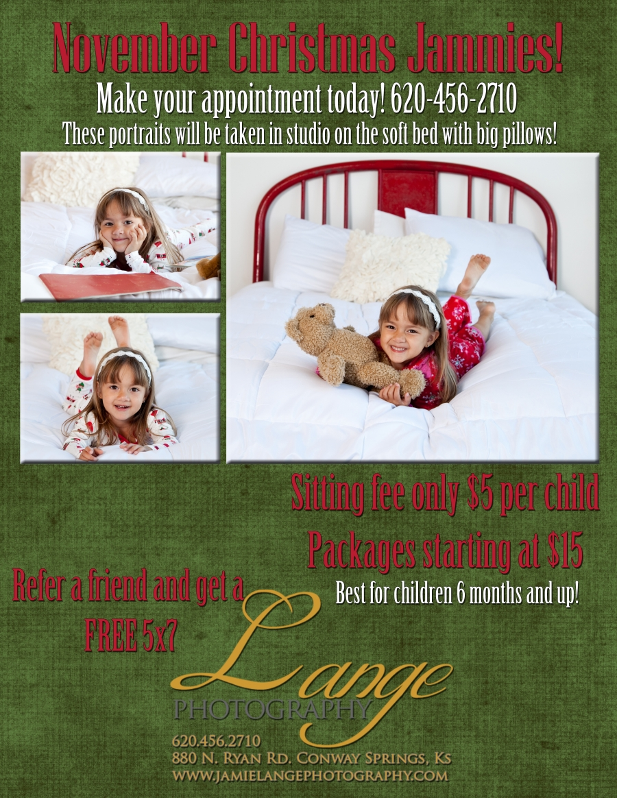 November Christmas Jammies! – Limited Editions Special » Lange ...