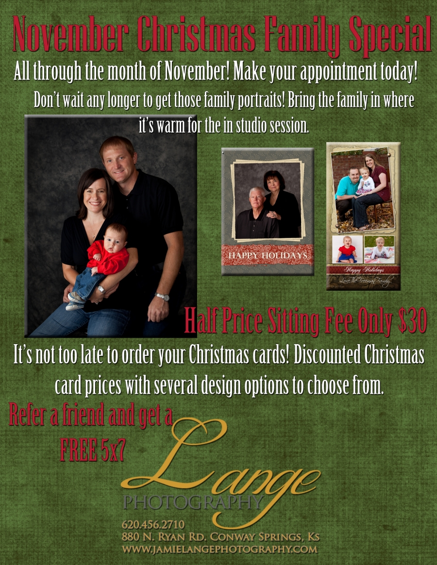 November Christmas Family Special – Limited Editions Special » Lange ...