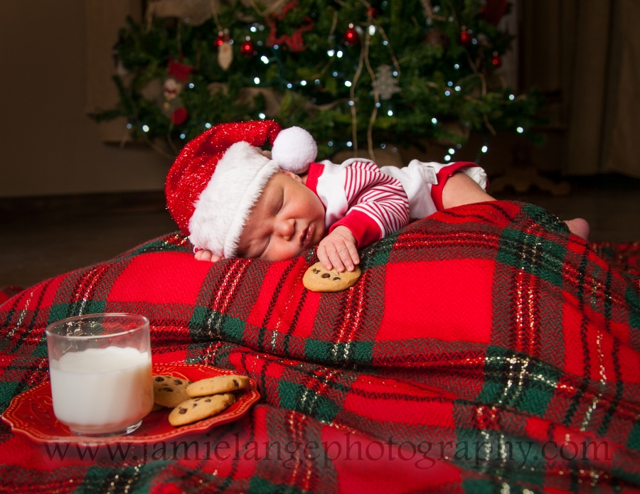 Newborn Christmas Pictures.Best Christmas Present Lange Photography Newborn